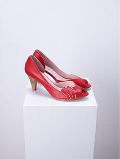 Escarpins rouges Patricia Blanchet