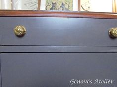 Pomos cajon mueble modernista Genoves Atelier