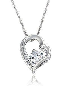 SURANO DESIGN JEWELRY Sterling Silver Necklace w//CZ Stones Cross Dove Pendant