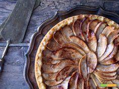 Crostata di mele all'antica  #ricette #food #recipes