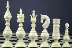 Beautiful Chess Pieces.