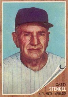 1962 Topps Stengel