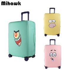 Personality Elastic Luggage Protective Cover Thick Cartoon Suitcase Dust Bags Fashion Travel Accessories Supplies Products
