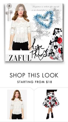 """""""ZAFUL '14"""" by aaidaa ❤ liked on Polyvore featuring women's clothing, women's fashion, women, female, woman, misses and juniors"""