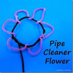 Quick and easy flower crafts for kids!