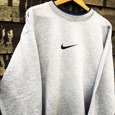 Retro Nike grey sweatshirt size XL (fits L-XL) . - Depop Retro N. - Retro Nike grey sweatshirt size XL (fits L-XL) … – Depop Retro Nike grey sweatshirt – 0 Source by - Cute Lazy Outfits, Sporty Outfits, Nike Outfits, Teen Fashion Outfits, Trendy Outfits, Office Outfits, Grunge Outfits, Vintage Nike Sweatshirt, Sweatshirt Outfit