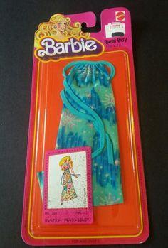 Vintage 1979 Superstar Barbie P J Christie Best Buy Fashions 1360 SEALED   eBay