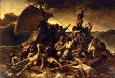 Le radeau de la Méduse, Géricault, Louvres, Paris