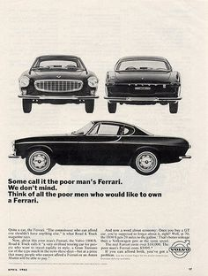 Volvo p1800e - then and NOW!
