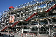 Centre Georges Pompidou in Paris, France