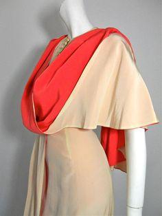 30s gown 30s dress 1930s dress vintage dress
