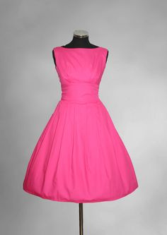 Made to Order Vintage/50s/Rockabilly/Retro Inspired Dress Ideal for Bridesmaids and Summer Weddings. £100.00, via Etsy.