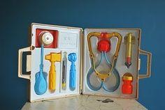 Vintage - Fisher Price medical kit- yep!!