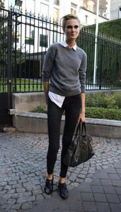 Best Ideas For How To Wear Casual Outfits Oxford Shoes Source by Outfits street style Mode Outfits, Fall Outfits, Casual Outfits, Classy Outfits, Casual Wear, Summer Outfits, Mode Style, Style Me, Shoes Style