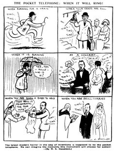 Century-old comic accurately depicts the nightmare of cellphones / Boing Boing