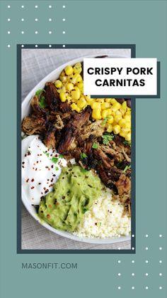 Healthy Low Carb Recipes, Healthy Food Choices, Healthy Foods To Eat, Healthy Cheap Meals, Healthy Eating, Pork Recipes, Mexican Food Recipes, Real Food Recipes, Diet Recipes