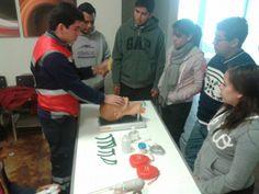 Entrenador de Intubación, ResCue Mask, Rescue Pump de marca Ambu apoyando el entrenamiento en Cruz Roja Mexicana Delegación Tamaulipas.  EMS Mexico | Equipando a los Profesionales