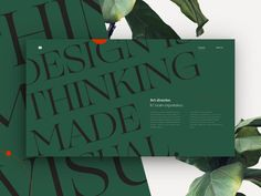 Thinking made visual. — Personal folio concept by Bastien Allard on Dribbble Modern Web Design, Global Design, Ux Design, Website Header Design, Editorial Layout, Saint Charles, New Fonts, Show And Tell, Motion Design