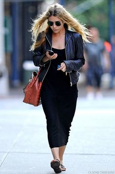 Ashley Olsen - love this look