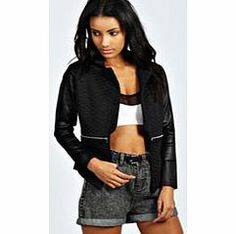 boohoo Quilted Zip Blazer - black azz27469 Coats and jackets are a seriously statement staple this season. Whether you're taking on timeless with a trench, keeping it quirky in a kimono, or being bad ass in a bomber jacket, boohoo's got all ba http://www.comparestoreprices.co.uk/womens-clothes/boohoo-quilted-zip-blazer--black-azz27469.asp