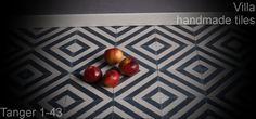 Marokkanske Cementfliser, Villa Handmade Tiles, Cementfliser, Haandlavede fliser, Design Fliser, Fliser, Flise, Koekken, Bad, Gang, Tanger 1-43