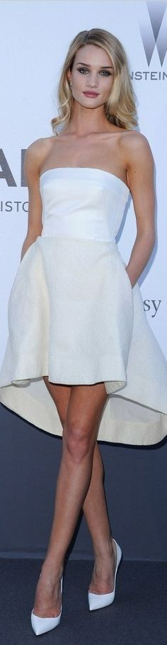 Rosie Huntington Whiteley in Dior...amfAR Gala...2013 Cannes Film Festival