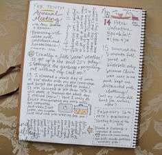 Daily Journal Project, A simple way to get in the habit of journaling without the stress.  Her lettering style is wonderful and she does classes.  Also, a great A to Z journal.