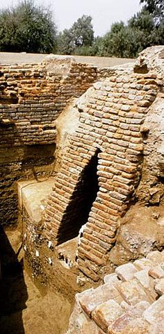 The city of Harappa had a sophisticated drainage system perhaps as early as 6,000 years before the present