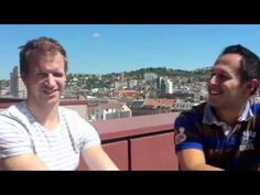 Herzblut Onliner: Valentin und Andreas,   www.verdure.de Interview, Andreas, Wayfarer, Ray Bans, Mens Sunglasses, Videos, Style, Fashion, Thoughts