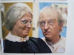 "Graham Kennedy and Rosie Sturgess as George and Joyce Wilson, ""In Melbourne Tonight"", I Cool, Family Memories, Atheism, Celebs, Celebrities, Haha Funny, Comic Character, Childhood Memories, Movie Stars"