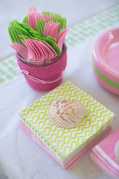 Lilly Pulitzer party: Harper Grace is 1!