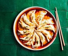 Don't underestimate that dressing – it's a smoky, sweet, sour, spicy and salty hit that works wonder with the dumplings.