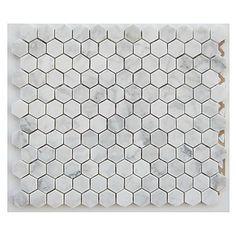 Mosaïque de marbre «Hexagone» - Rona Tout simplement mon style !
