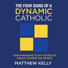 """The Four Signs of a Dynamic Catholic      MATTHEW KELLY Free Preview #Catholic This CD features audio excerpts from Matthew Kelly's book """"The Four Signs of a Dynamic Catholic.""""  As human beings we are constantly engaging and disengaging in everything we do. We engage and disengage at work, in marriage, as parents, in our quest for health and well-being, in personal finances, environmentally, politically, and, of course, we engage and disengage spiritually."""