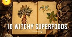 Make sure you have the list of Our Top 10 Witchy Superfoods to prepare us for the Winter. Let's be even more powerful this Winter!