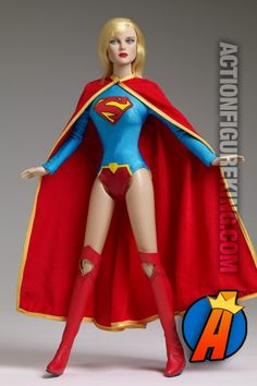 Tonner New 52 Supergirl fashion figure. Visit site for full details including availability and pricing. #supergirl #superman #tonner