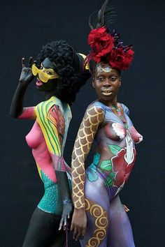 pintura sobre cuerpos femeninos - Buscar con Google