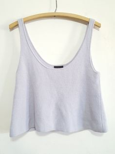 J.Crew Collection Cashmere Swing Tank size M
