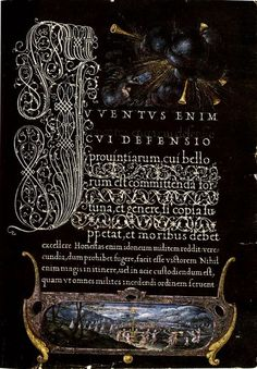 The art of the pen. Calligraphy from the court of the Emperor Rudolf II