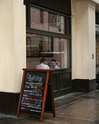 Best wine bars: Terroirs, London