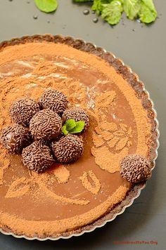 Triple Brigadeiro Cheesecake Tart - From Brazil To You