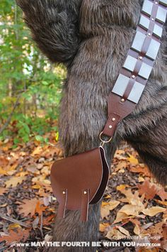 DIY Chewbacca/Wookie Bandolier and Bag