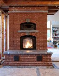 See-Through Brick Heater