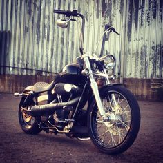 Hang Apes on a davidson street bob Harley Davidson Breakout Custom, Motos Harley Davidson, Harley Davidson Street, Harley Bobber, Harley Bikes, Custom Street Bob, Chopper, Harley Street Bob, Bobber Style