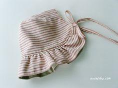 no 076 The Abigail Baby Bonnet PDF Pattern
