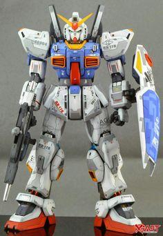 PG 1/60 Gundam Mk-II - Customized Build     Modeled by ferraried