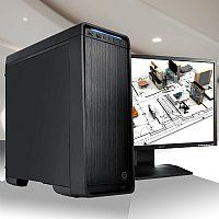 Elite Performance Custom 3D Modeling & AutoCAD System Haswell Version