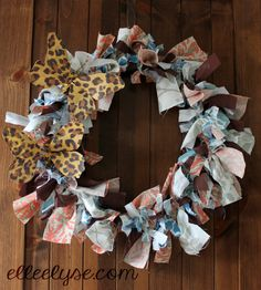 DIY Summer Wreath Project - Elle Elyse - Handbags, Accessories & More!