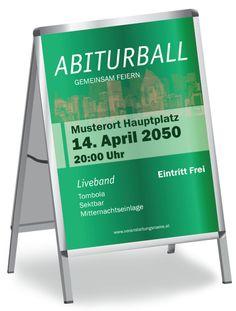 Individuell bedruckte Abiturball Poster. #onlineprintxxl #abiturballposter #posterdesign #poster #plakat #plakatdesign