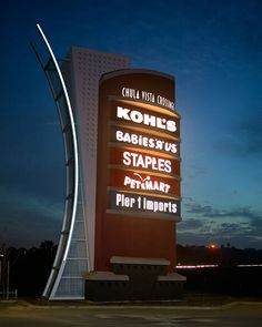 pylon sign designs - Saferbrowser Yahoo Image Search Results | pylon signs | Pinterest | Pylon ... Pylon Signage, Entrance Signage, Exterior Signage, Wayfinding Signage, Signage Design, Logo Design, Architectural Signage, Commercial Signs, Monument Signs